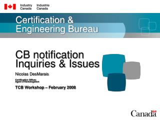 Certification & Engineering Bureau