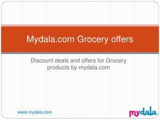 Online Grocery offers