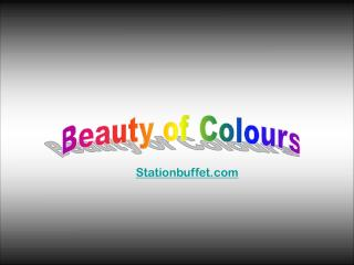 Beauty of Colours