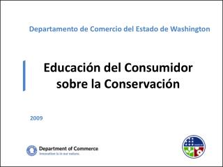 Departamento de Comercio del Estado de Washington
