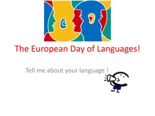 The European Day of Languages​​!