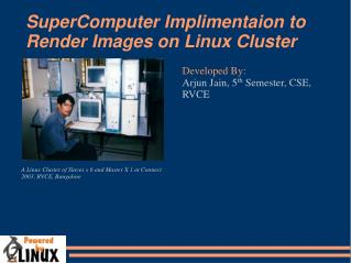 SuperComputer Implimentaion to Render Images on Linux Cluster