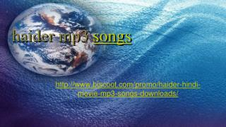 download haider songs