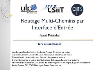 Routage Multi-Chemins par Interface d'Entrée