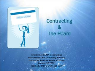 Contracting & The PCard