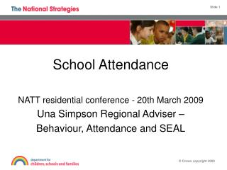 School behaviour and attendance Partnerships