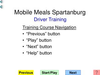Mobile Meals Spartanburg