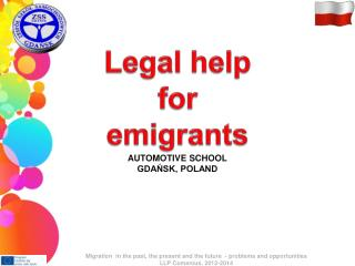 Legal help  for  emigrants