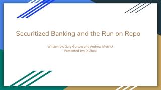 A Survey Paper on 2007 Subprime Mortgage Financial Crisis