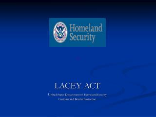 LACEY ACT