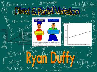 Direct & Partial Variation