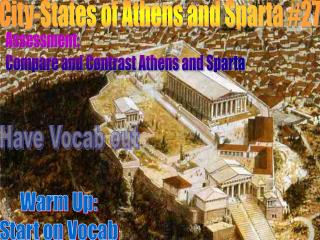City-States of Athens and Sparta #30