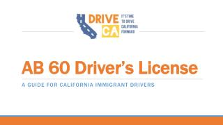 AB 60 Driver's License