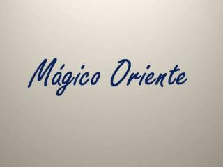 2098-MAGIQUE ORIENT