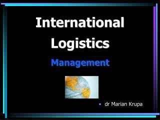 International  Logistics  Management