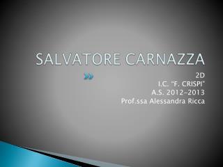 SALVATORE CARNAZZA