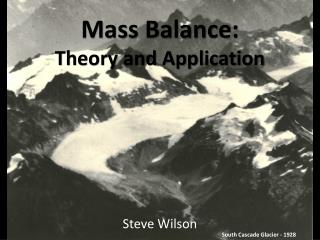 Mass Balance: Theory and Application