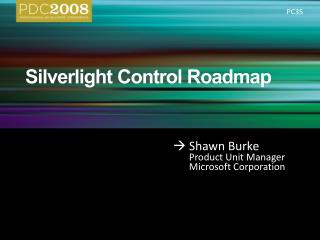 Silverlight Control Roadmap