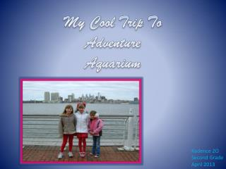 My Cool Trip To Adventure Aquarium