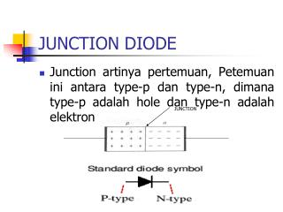 JUNCTION DIODE