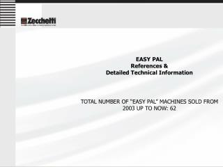 EASY PAL References &  Detailed Technical Information