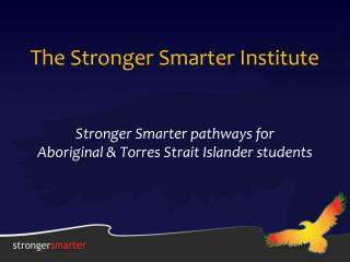 The Stronger Smarter Institute