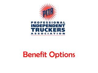 Benefit Options