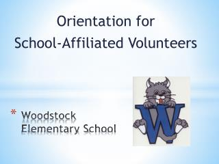 Woodstock Elementary  S chool