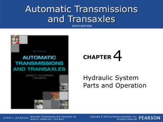 Hydraulic System Parts and Operation