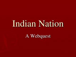 Indian Nation