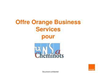 Offre Orange Business Services pour