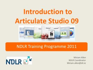 Introduction to Articulate Studio 09