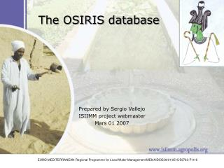 The OSIRIS database