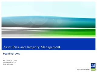Asset Risk and Integrity Management