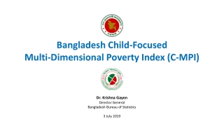 Child Nutrition and Poverty in Bangladesh