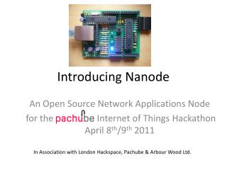 Introducing  Nanode