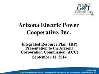 Arizona Electric Power Cooperative, Inc.