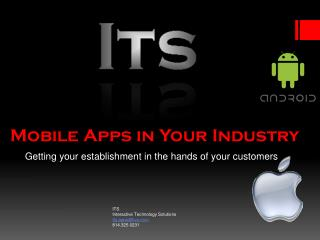 Mobile Apps in Your Industry