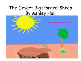 The Desert Big Horned Sheep By Ashley Hull