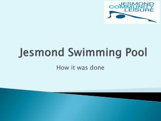 Jesmond  Swimming Pool