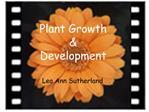 Plant Growth    Development