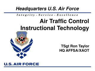Air Traffic Control Instructional Technology