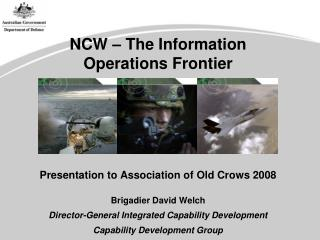 NCW – The Information Operations Frontier