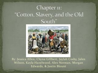 "Chapter 11: ""Cotton, Slavery, and the Old South"""