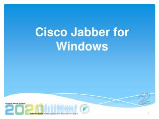 Cisco Jabber for Windows