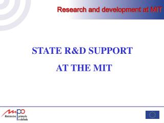 Research and development at MIT