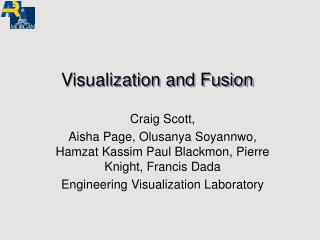 Visualization and Fusion