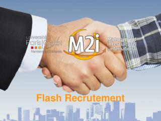 Flash Recrutement