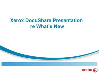 Xerox Internal Use Only – Xerox Confidential Prepared by Towers Watson