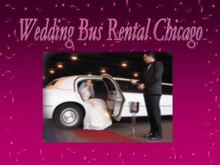 Wedding Bus Rental Chicago